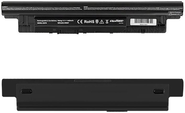 Qoltec Long Life Notebook Battery For Dell 3521/5521 4400mAh