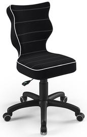 Детский стул Entelo Petit Size 4 S01, черный, 350 мм x 830 мм