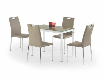 Halmar Dining Table Argus Beige White