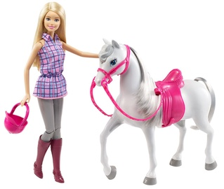Mattel Barbie Doll & Horse DHB68