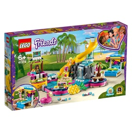 Lego Blocks Friends Pool party 41374