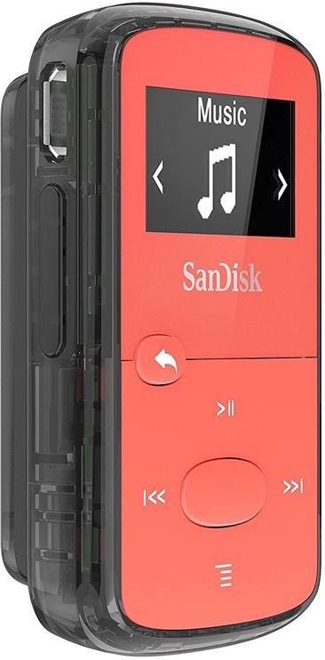 Muusikamängija Sandisk Clip Jam Red, 8 GB