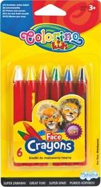 Patio Colorino Kids Face Crayons 32629PTR
