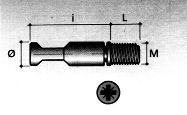 MÖÖBLIKINIITUS D7X34 M6 TE03 FZ