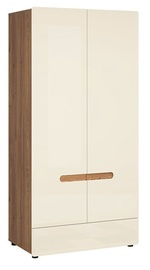 Black Red White Indio Wardrobe Sibiu Larch/Pearl