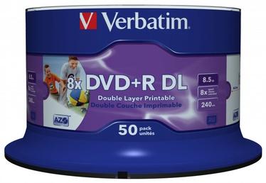 Verbatim 50x 8.5GB DVD+R 8x 43703