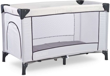 Caretero Basic Travel Cot Ash