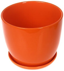 Verners Flower Pot Orange 20cm
