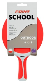 Point Ping Pong Racket School Outdoor Red