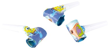 SN SpongeBob Whistle 6pcs 997783