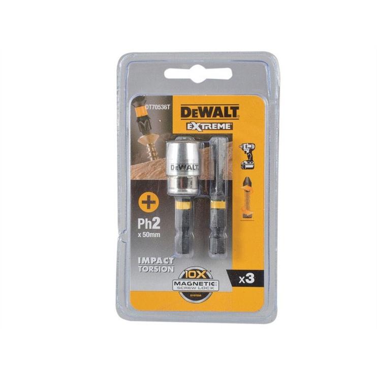 DeWalt Extreme DT70536T PH2 50mm 2pcs