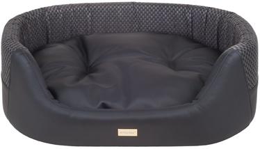 Amiplay Morgan Dog Ellipse Bedding M 64x55x19cm Black