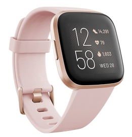 Išmanusis laikrodis Fitbit Versa 2 Petal Copper Rose Aluminium