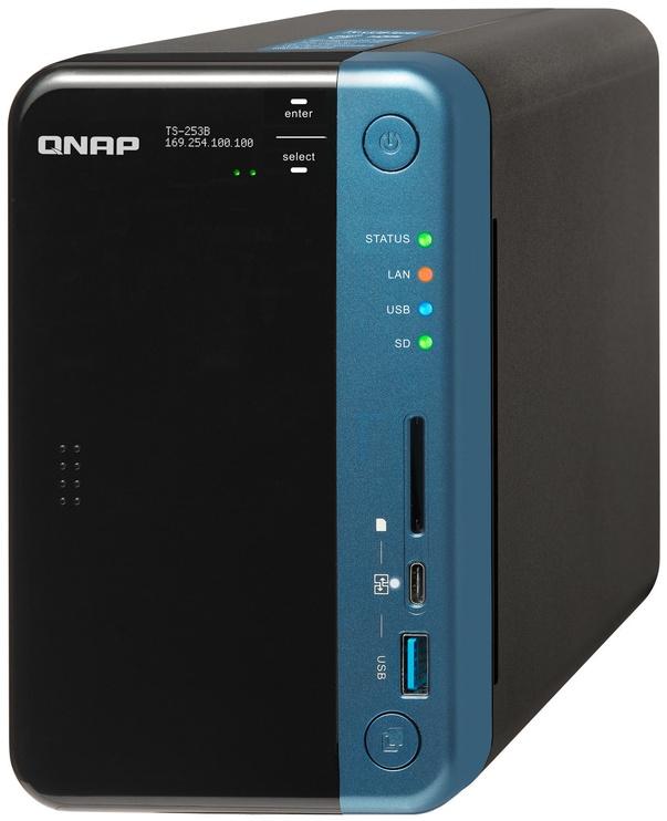 QNAP Systems TS-253B-4G 2-Bay NAS 8TB
