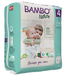 Bambo Nature Classic Diapers S4 24