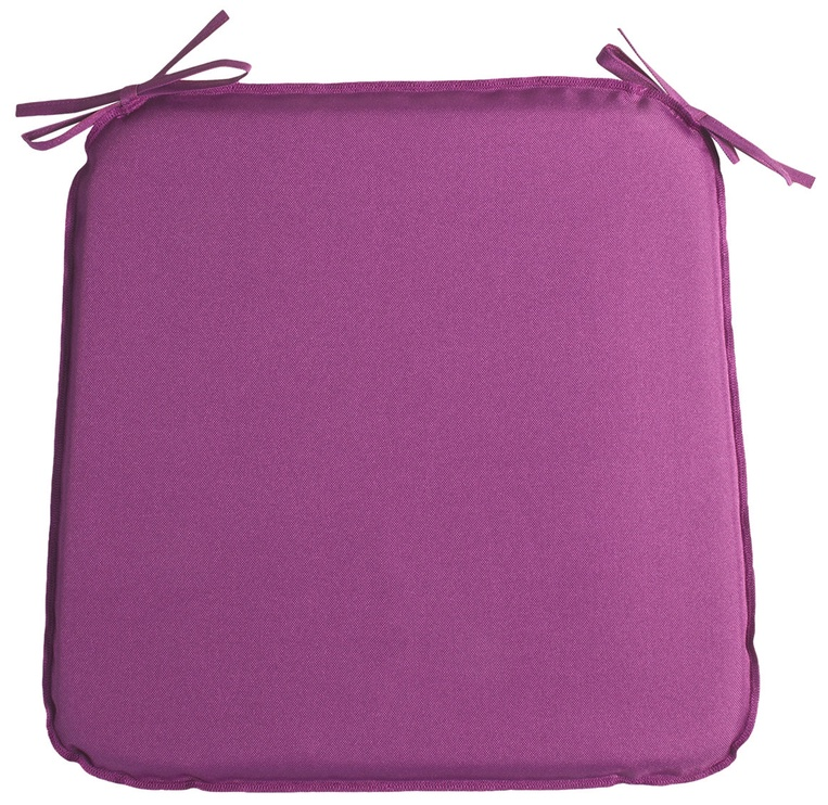 Home4you Chair Cover Ohio 39x39x2.5cm Purple