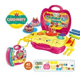 Žaislinis saldumynų gaminimo lagaminėlis
