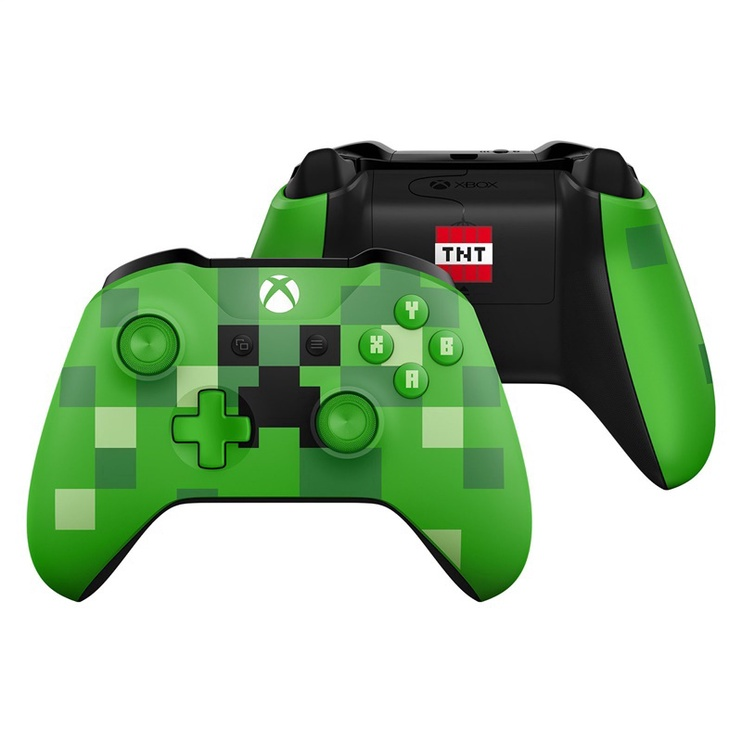 Microsoft Xbox One S Wireless Controller Minecraft Creeper Limited Edition