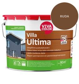 Dažai lauko medienai Villa Ultima, rudi, 9L