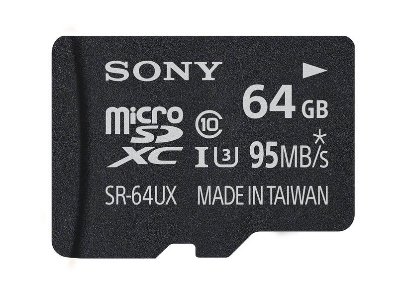 Sony 64GB Micro SDXC Class 10