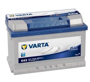 Akumuliatorius Varta BD E43, 12 V, 72 Ah, 680 A