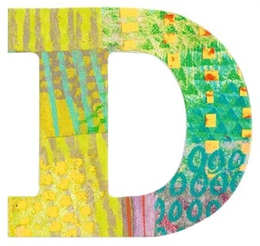 Djeco Peacock D Letter