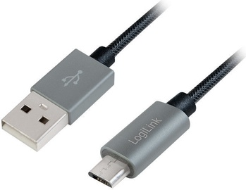 Logilink USB to Micro USB Cable Grey 2m
