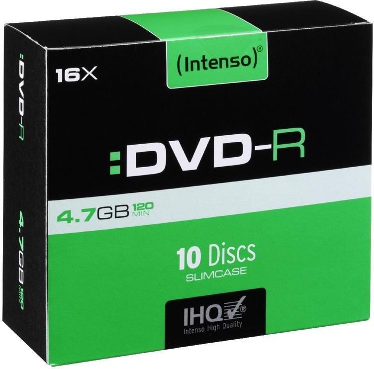 Intenso DVD-R 16x 4.7GB 10pcs. Slim Case 4101652
