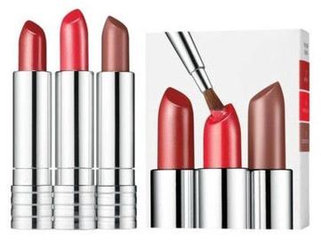 Clinique Long Lasting Lipstick 3pcs Set 12g