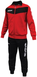 Givova Visa Red Black L