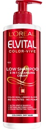 L´Oreal Paris Elvive Colour Protect Low Shampoo 3 in 1 400ml