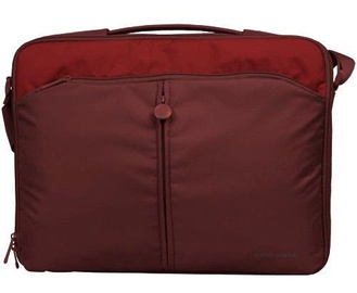 "Sumdex Continent CC-02 Cranberry 15""-16"" Laptop Bag Red"