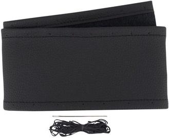 Оплетка руля Carmotion Genuine Leather Steering Wheel Cover 39–41cm Black