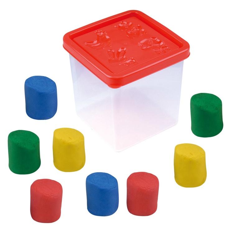 PlayGo Dough Bucket 8pcs 8618