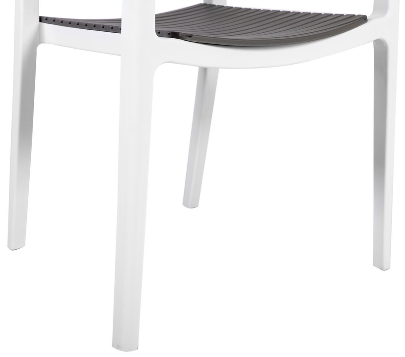 Стул для столовой Home4you Note Grey/White, 4 шт.