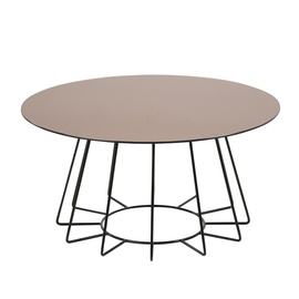 Home4you Casia Coffee Table Bronze Black