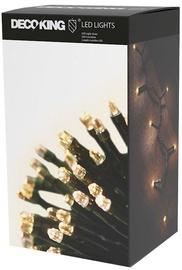 Elektriskā virtene DecoKing LED, silti balta, 743 cm