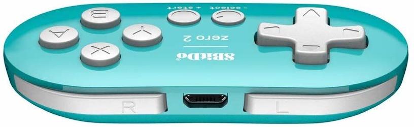 Žaidimų pultas 8BitDo Zero 2 Turquoise