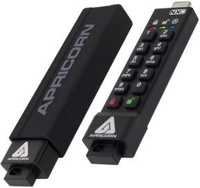 USB-накопитель Apricorn Aegis Secure Key 3NXC, черный, 16 GB