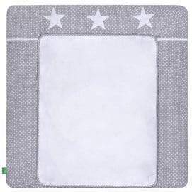 Lulando Changing Table Mat White Dots/Stars 75x80cm