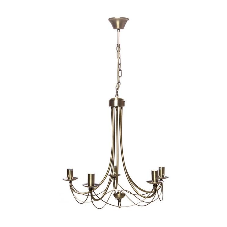 Griestu lampa Futura MD122-5 5x60W E14