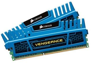 Operatīvā atmiņa (RAM) Corsair Vengeance Blue CMZ16GX3M2A1600C10B DDR3 (RAM) 16 GB