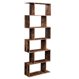 Songmics Bookcase 70x24x190.5cm Brown