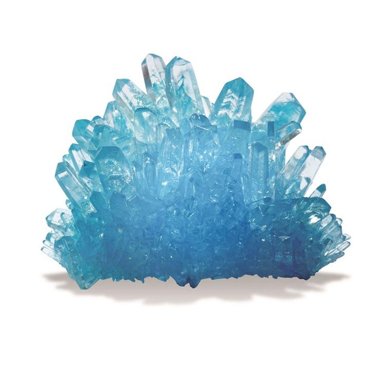 Edukacinis žaidimas Eastcolight Grow Your Own Crystal 36106, mėlynas