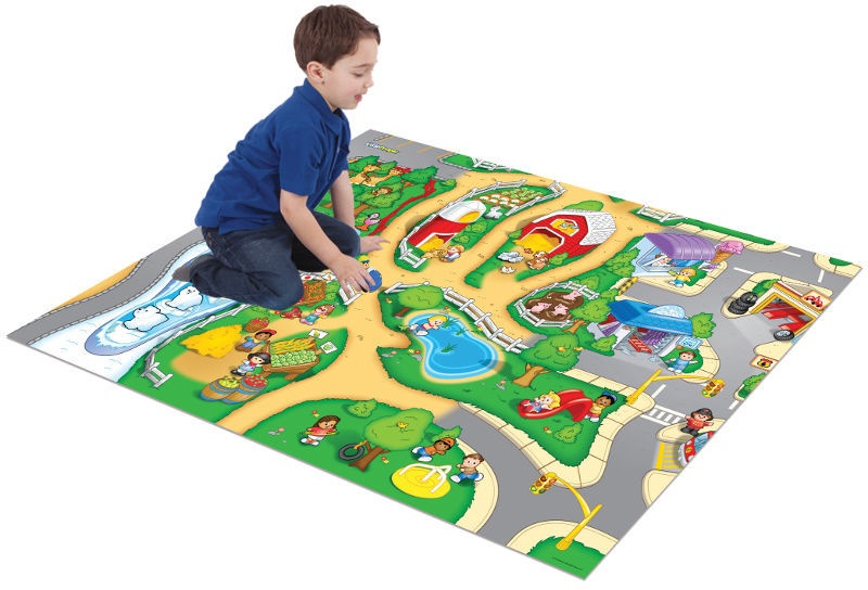 TCG Fisher Price Little Mega Mat With Car 30592