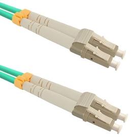 Qoltec Fiber Optic Cable Multimode LC/UPC to LC/UPC 50/125 OM3 1m
