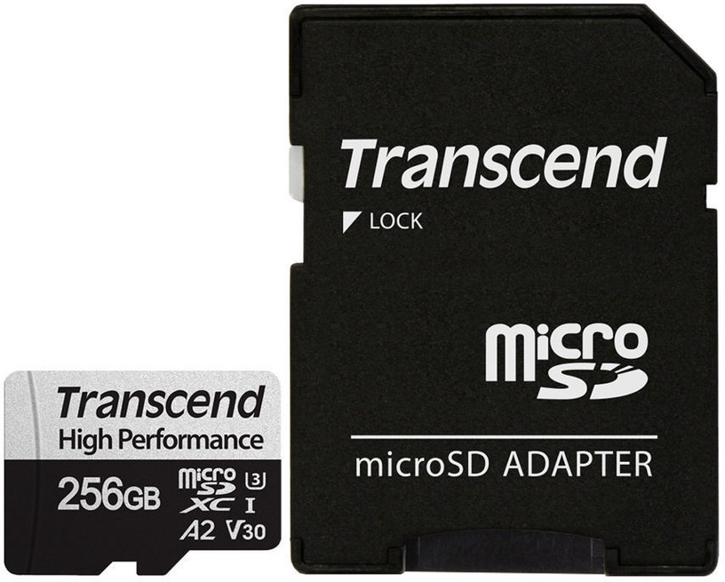 Transcend 330S microSDXC 256GB w/Adapter