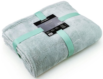 DecoKing Fluff Blanket Peppermint 170x210cm