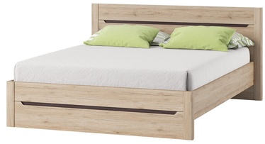 Szynaka Meble Desjo Bed 180x200cm Sanremo Oak