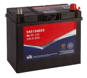 Аккумулятор AD BALTIC 545156033, 12 В, 45 Ач, 330 а